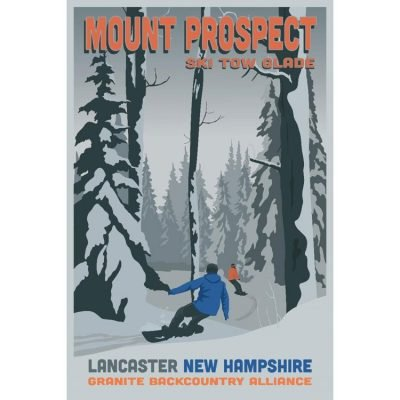 Granite Backcountry Alliance Ski Posters - 3 Sizes Available