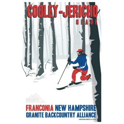 Granite Backcountry Alliance Cooley & JerichoSki Poster