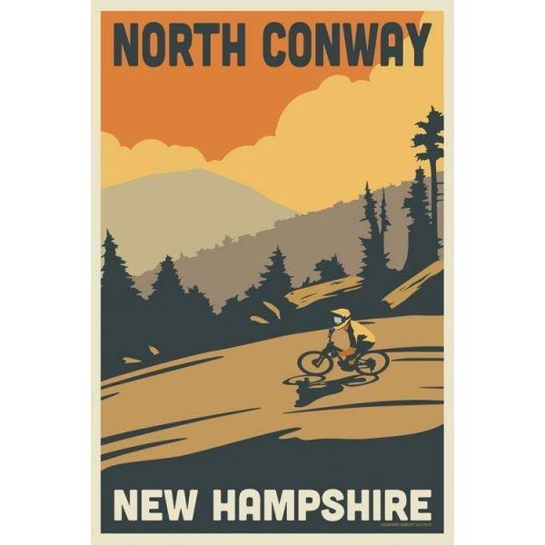 NH Biking Poster